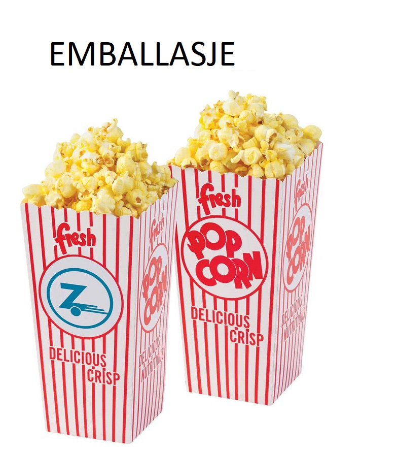 popcorn med egen logo